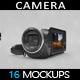 Camera Mockup - GraphicRiver Item for Sale