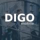 Digo - Elegant Mobile Template - ThemeForest Item for Sale