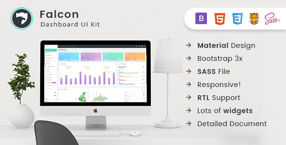Falcon - Bootstrap Admin Dashboard Template + UI Kit