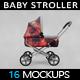 Baby Stroller MockUp - GraphicRiver Item for Sale