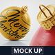 Christmas Ball Mockup 2 - GraphicRiver Item for Sale