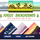 Forest Backgrounds Pack - GraphicRiver Item for Sale