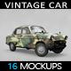 Vintage Car Mockup - GraphicRiver Item for Sale