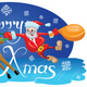 Santa with Reindeer - GraphicRiver Item for Sale