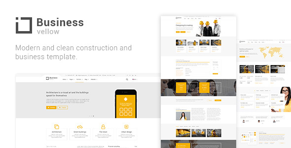 Review: Yellow Business - Construction Template free download Review: Yellow Business - Construction Template nulled Review: Yellow Business - Construction Template