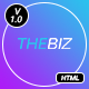 TheBiz - Multipurpose Business And Corporate HTML5 Template - ThemeForest Item for Sale