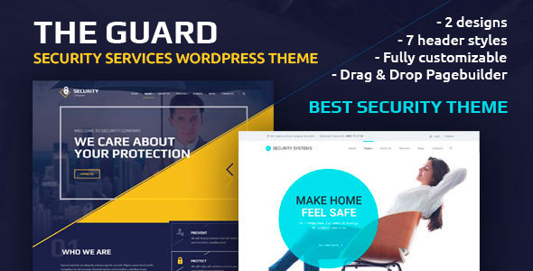 The Guard – Security Company WordPress Theme