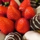 Bouquet with Rose and Strawberry in Chocolate Frosting. Rotation Movie. - VideoHive Item for Sale