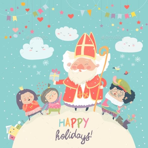 Saint Nicholas with Kids