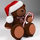 Christmas-Bear - 3DOcean Item for Sale
