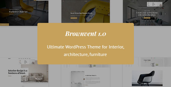 Brownvent - Creative WooCommerce WordPress Theme