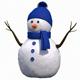 Cute Snow Man - 3DOcean Item for Sale