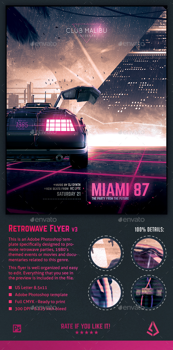 Outrun Graphics, Designs & Templates from GraphicRiver