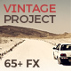 The Vintage Project | 65+ FX & Must-Have Tools - GraphicRiver Item for Sale