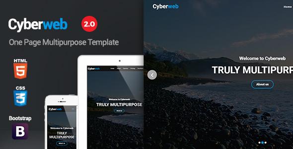 Cyberweb - One Page Multipurpose Template