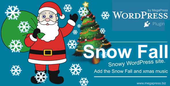 Snow Fall for Wordpress
