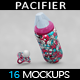 Baby Bottle and Pacifier Mockup - GraphicRiver Item for Sale