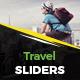 Travel Slider Vol.4 - GraphicRiver Item for Sale