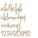 Calligraphy font - GraphicRiver Item for Sale