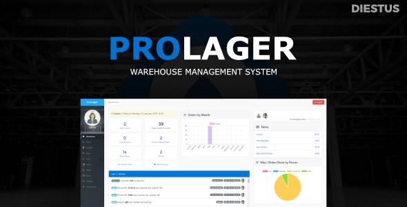 ProLager | Warehouse Manager