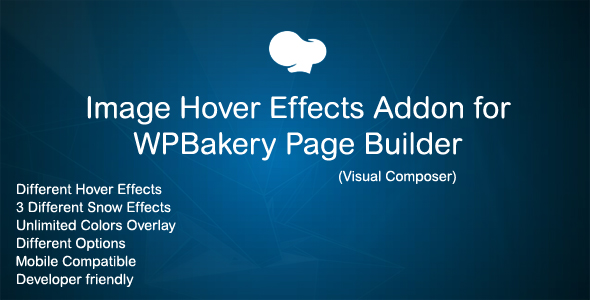 Image Hover Effects Addon for WPBakery Page Builder ( Visual Composer ) Download