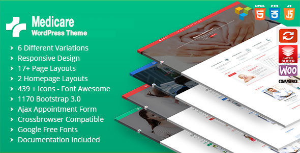 Medicare Responsive WordPress RTL Theme