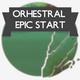 Orchestral Epic Start Logo