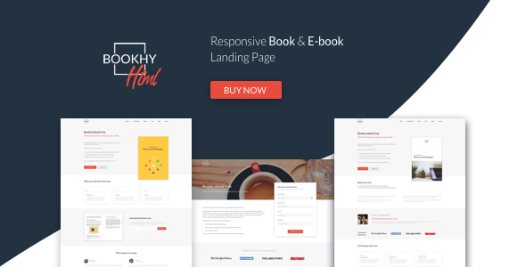 Bookhy - The Perfect Landing Page, Book & Ebook. Boost Your Conversions.