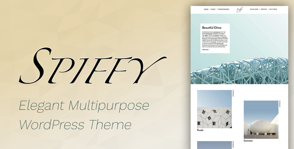 Spiffy - Elegant WooCommerce & WordPress Theme