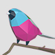 Low-Poly Birds - 3DOcean Item for Sale