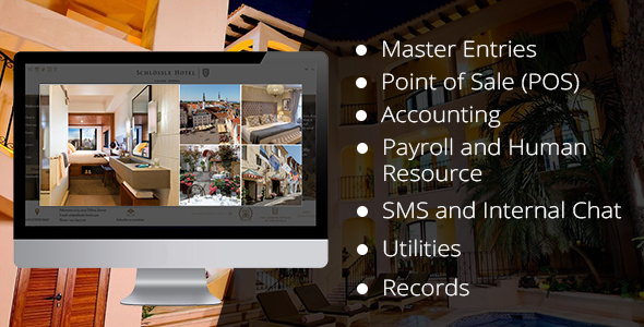 Hotel Management Software Offline With Restaurant POS SYSTEM Install Only