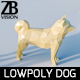 Lowpoly Dog 001 - 3DOcean Item for Sale
