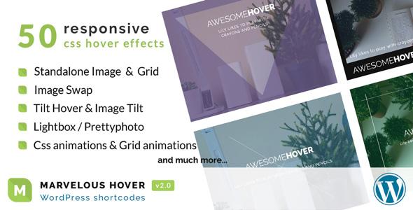 Marvelous Hover Effects | WordPress plugin Download