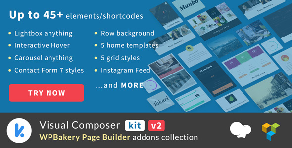 Codecanyon | VCKit - WPBakery Page Builder addons collection (formely Visual Composer) Free Download free download Codecanyon | VCKit - WPBakery Page Builder addons collection (formely Visual Composer) Free Download nulled Codecanyon | VCKit - WPBakery Page Builder addons collection (formely Visual Composer) Free Download