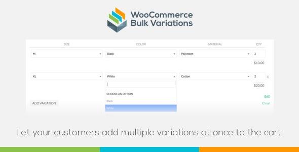 WooCommerce Bulk Variations Download