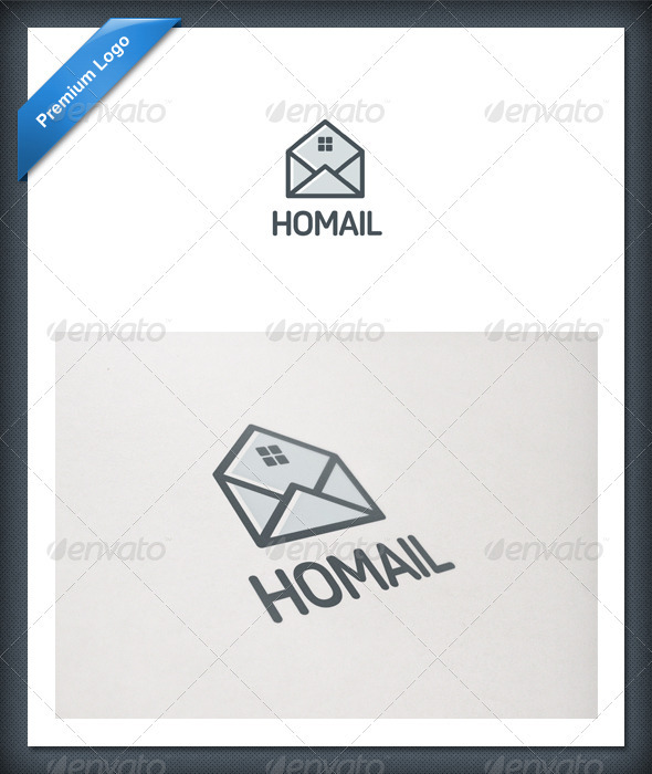 Home Mail Logo Template