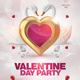White Valentine Day Flyer - GraphicRiver Item for Sale