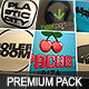 EDM(Electronic Dance Music) Logos Premium Collection - 3DOcean Item for Sale