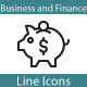 Business and Finance Line icons - GraphicRiver Item for Sale
