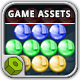 Bubble Shooter Game Assets - GraphicRiver Item for Sale