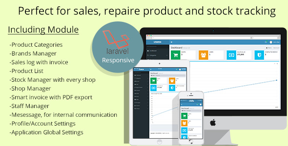 Multistore sales and repair tracking system