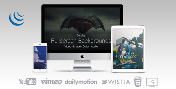 Ultimate Media Background for jQuery