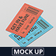 Event Ticket Mockup - GraphicRiver Item for Sale