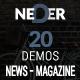 Neder - WordPress News Magazine and Blog Theme - ThemeForest Item for Sale