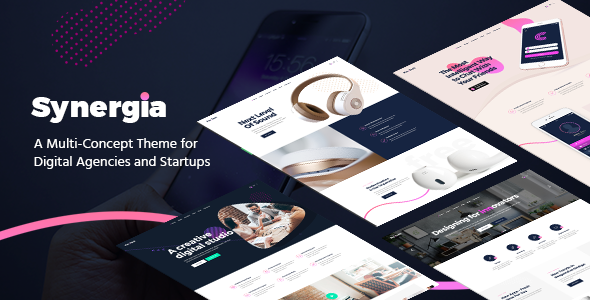 Synergia - Digital Agency Theme