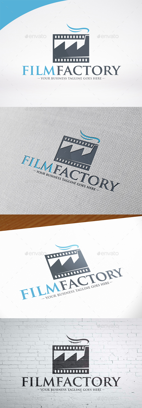 Movie Industry Logo Template