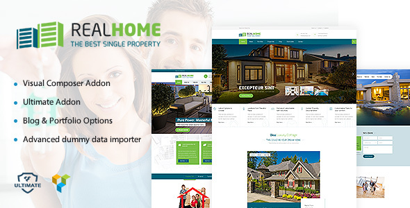 WordPress Single Property Realestate