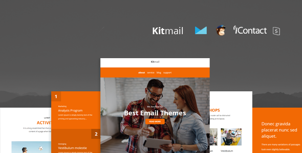 Kit Mail - Responsive E-mail Template + Online Access