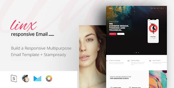 Linx - Responsive Email + StampReady Builder