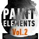 Paint Elements Vol 2 - Expanding Splatters - VideoHive Item for Sale